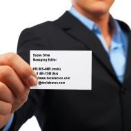 Business Card Etiquette Techniques Executive PAs